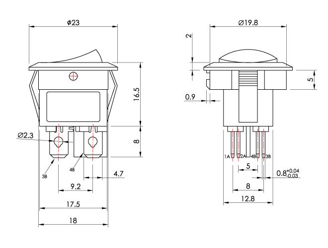 s3186 rocker switch diagram