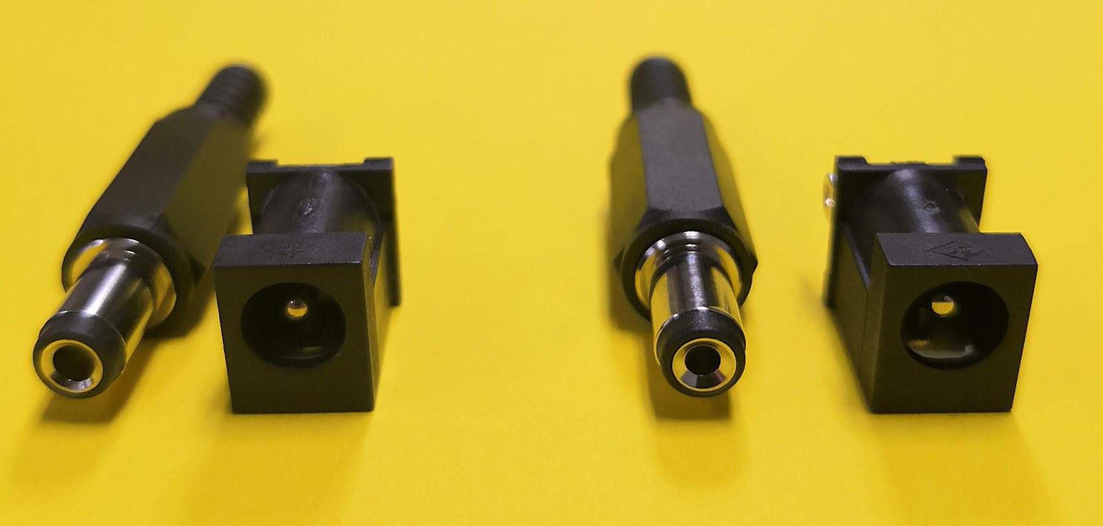 2.1mm vs 2.5mm dc power adapter tip