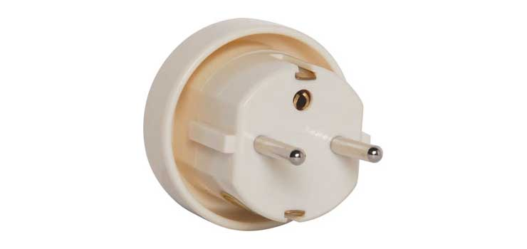 A0306 Australia/NZ to Europe Travel Power Adapter