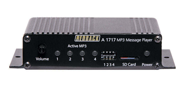 A1717 4 Way MP3 Message Player