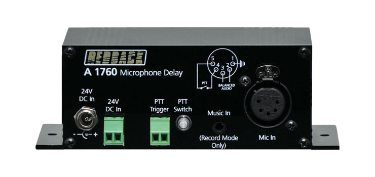 A1760 Microphone Delay/Mic-Line Recorder