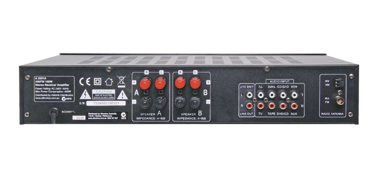 A2691A 100W Stereo AM/FM Receiver Amplifier