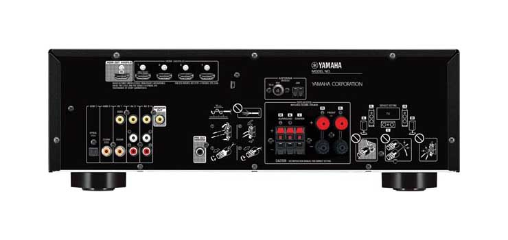 A2776C Yamaha® RX-V385B 5.1 Surround Sound Receiver