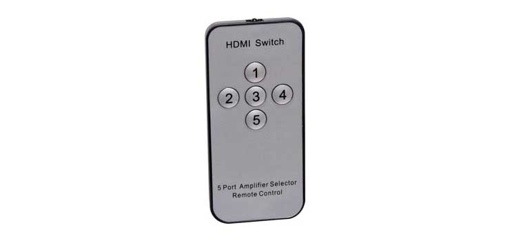 A3089 5 Way HDMI Switcher