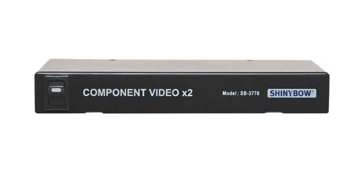 A3100 2 Way Component Video Distribution Amp