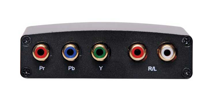 A3173A HDMI To Component & Stereo Audio Converter