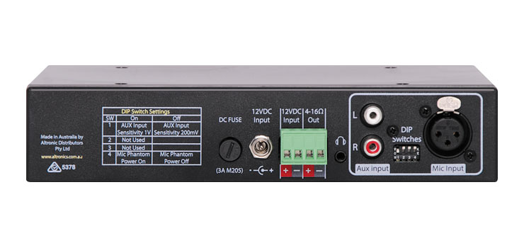 A4017 15W Public Address (PA) Amplifier