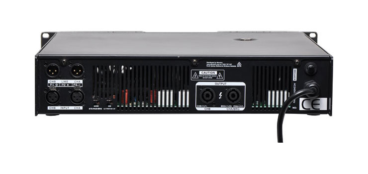 A4173A PA Amplifier Stereo/Bridgeable 2x550W