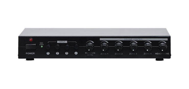 A4199 4 Input 4 Zone 30W Stereo Amplifier