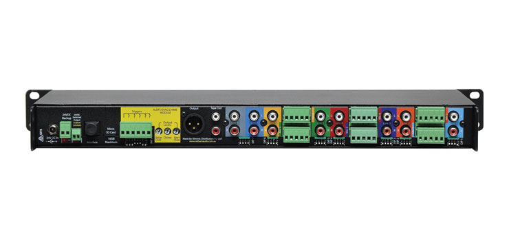 A4427 8 Channel PA Mixer With Tone Generator