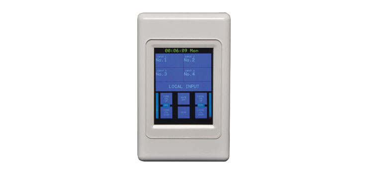 A4433 Touchscreen Source Switching Wallplate (To Suit A 4432)