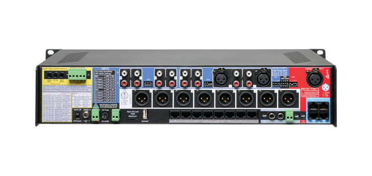 A4480B 8 Input to 8 Output Audio Matrix Switcher