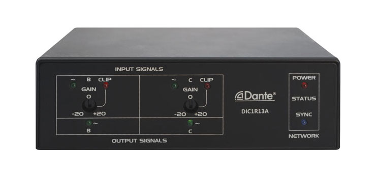 A4830 Dante Input/Output Converter Interface Box