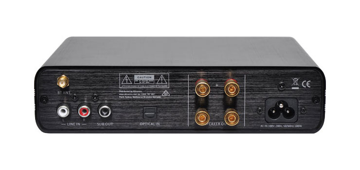A4860 2 x 50 Watt Bluetooth Amplifier