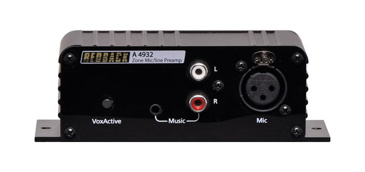 A4932 Balanced Microphone/Line Pre Amplifier