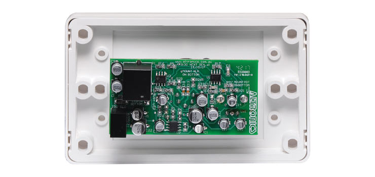 A5138 Microphone Wallplate to suit A 5135