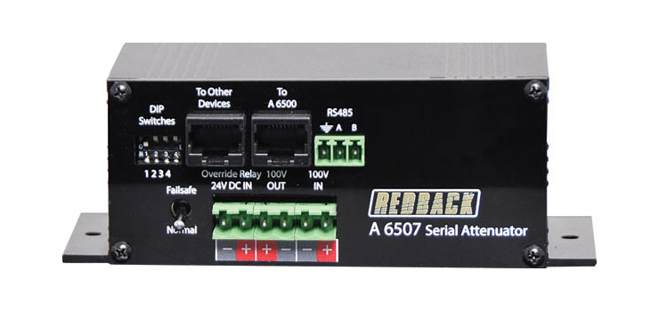 A6507 RS485 Serial 100V Line Attenuator
