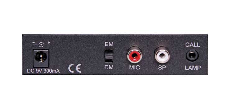 C0353 2-Way Desktop Paging Microphone Intercom