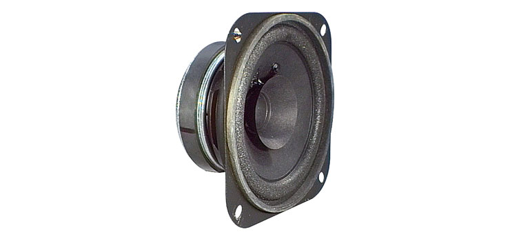 C0626 100mm 15W 8 Ohm Paper Twin Cone Speaker