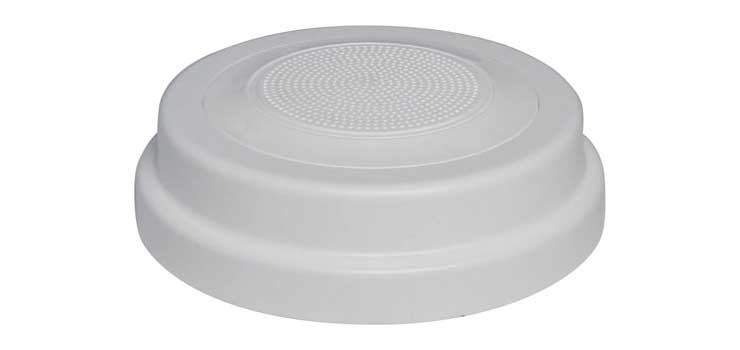 C0703A 100mm 5W 100V White One-Shot Surface Mount EWIS Speaker
