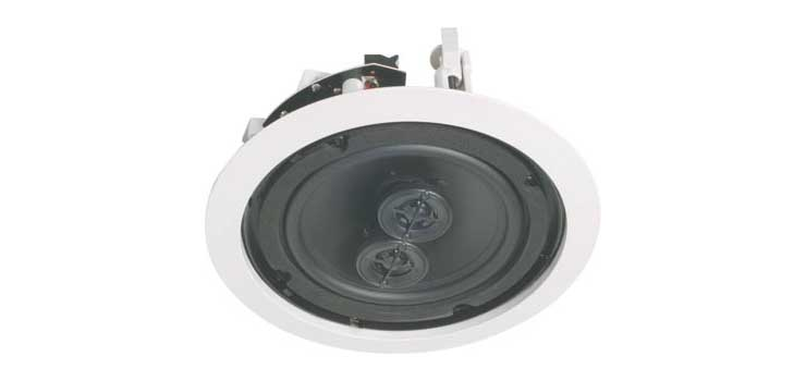 C0864 165mm 30W 3 Way Stereo Input Ceiling Speaker