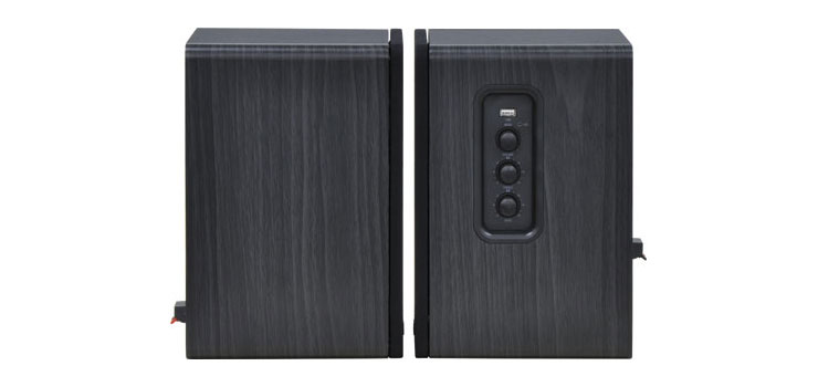 C5064 Bookshelf Bluetooth 50W Speaker Pair Black