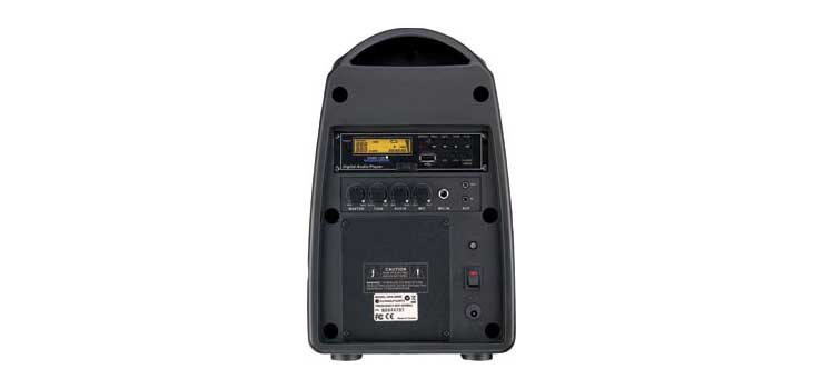 C7205 30W Compact Portable PA System With MP3 Player