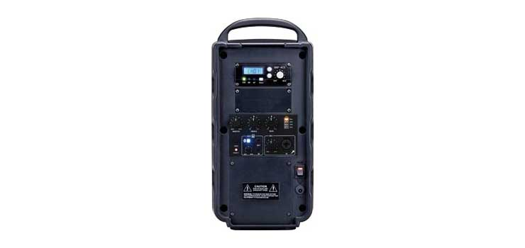 C7342A 40W Compact Portable 640-664MHz UHF Bluetooth Wireless PA System