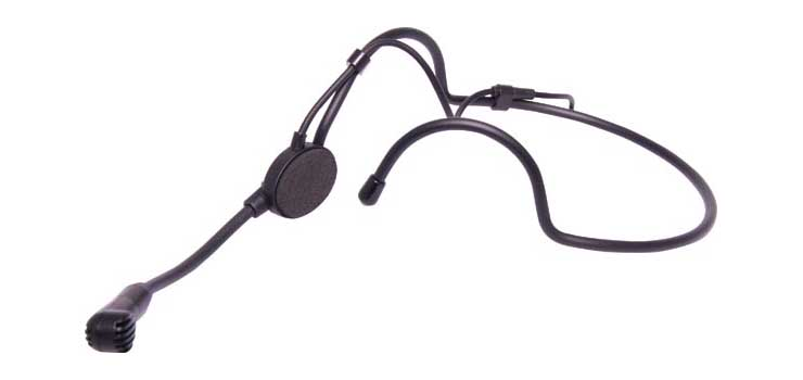 C8913B Lecture Light Weight Microphone Headband