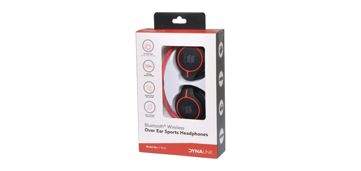 C9044 Bluetooth Wireless Over Ear Sports Headphones