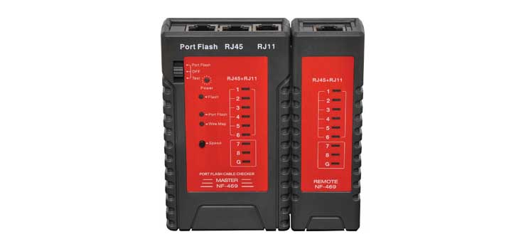 D3006A Cable Tester For Networks With Port Flash