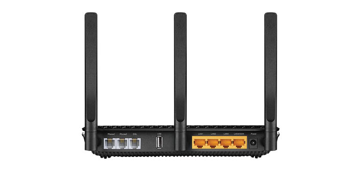 D4325 AC1600 Wireless Gigabit VoIP VDSL/ADSL Modem Router