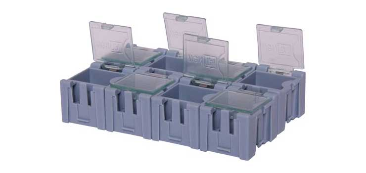 H0230 8 Way SMD Parts Storage Case