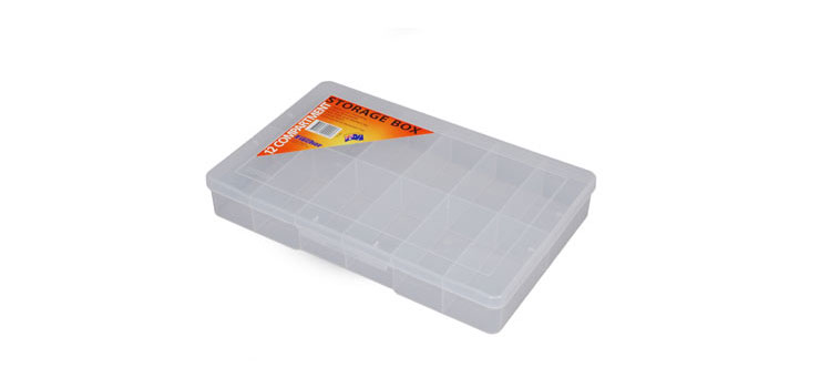 H0271 12 Way 310x200x48mm Parts Storage Case