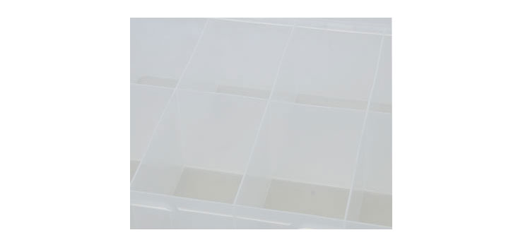 H0279 8 Way 350x270x100mm Parts Storage Case