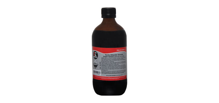 H0800 Ferric Chloride Copper Etchant 500mL