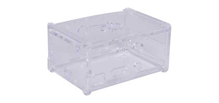 H6410 Clear case to suit Z6400 DAC+ and Z6402 DIGI+