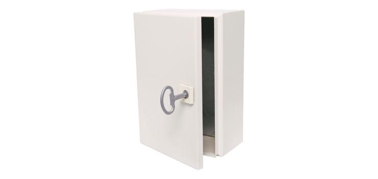 H7900 200x120x300mm Ip65 Lockable Steel Utility Wall Cabinet