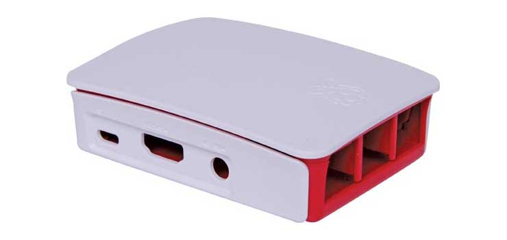 H8961 White ABS Box to suit Raspberry Pi 3 Model B