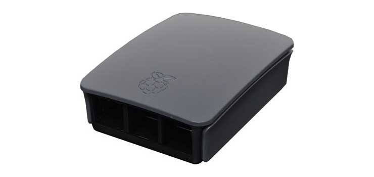 H8963 Black Grey ABS Box to suit Raspberry Pi Model 3