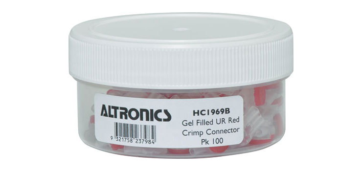 HC1969B UR3 3 Way Gel Filled Crimp Jar Pk 100
