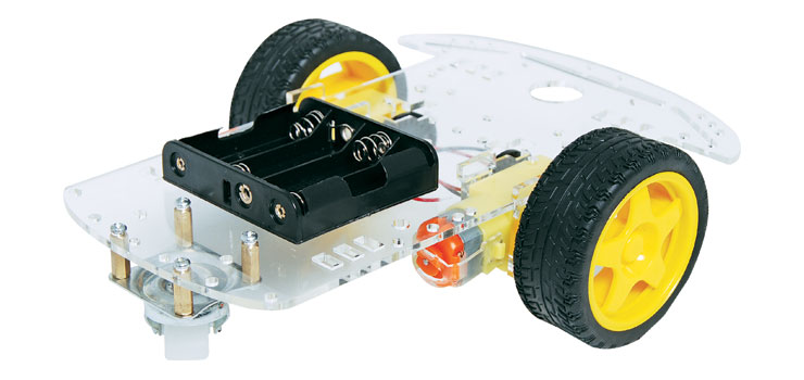K1090 2WD Robot Builders Motorised Base