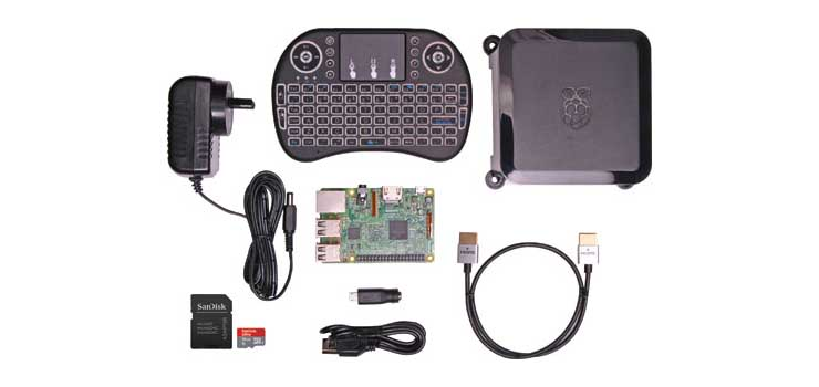K9625 Raspberry Pi 3 Media Center Starter Kit