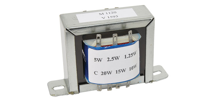 M1120 20W 100V Line PA EI Core Speaker / Audio Transformer
