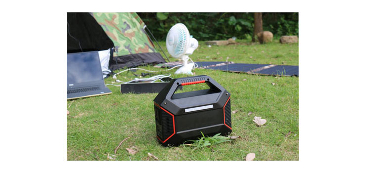 M8199A Portable MPPT Solar Power Generator 100W