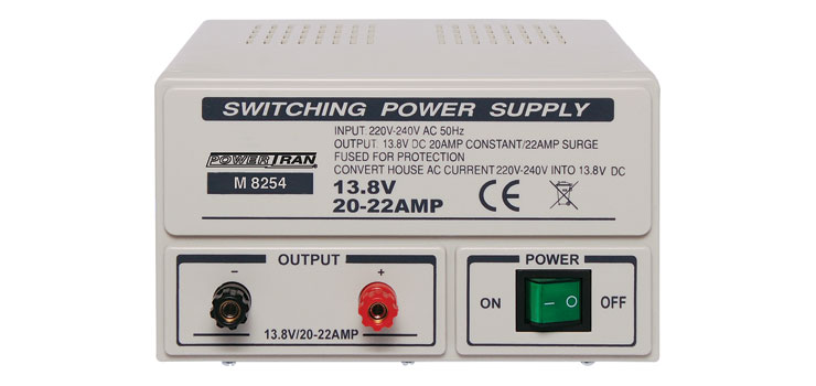 M8254 Fixed 13.8V 20A Benchtop Regulated Power Supply