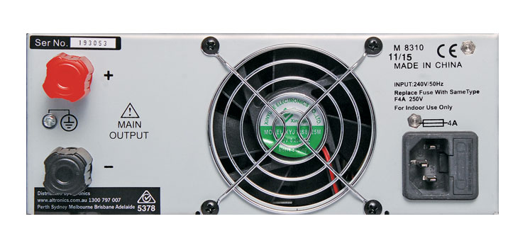 M8310 30V 20A Regulated Bench Top Power Supply