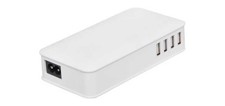 M8881 8 Port Intelligent 12A USB Charger