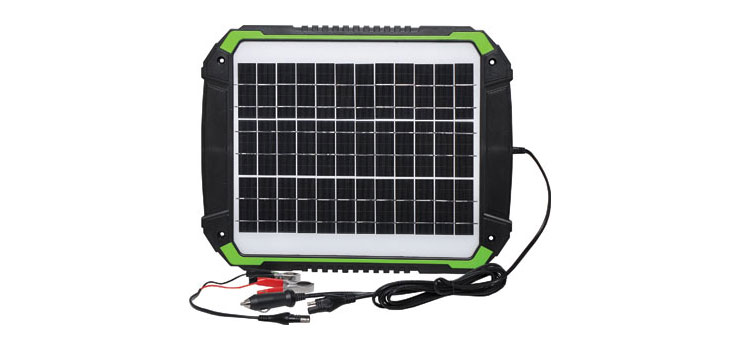 N0706A 15W 12V Solar Battery Charger