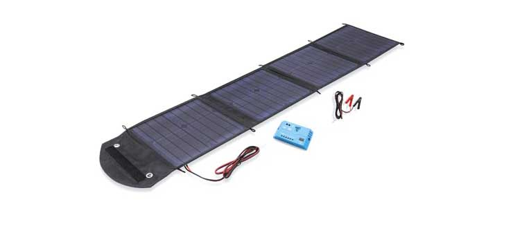 N1112 50W Fold Out Portable Blanket Solar Panel